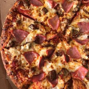 首单立享5折Domino's 正价披萨限时优惠活动,手机App专享福利