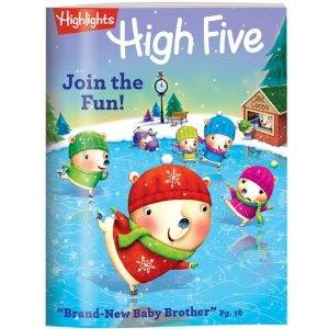Magazines for Preschoolers & Kindergartners - High Five