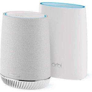 $254.43 (原价$429.99)NETGEAR Orbi RBK50V 全屋WiFi系统 带Alexa智能语音