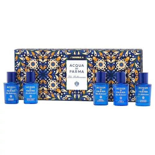 蓝色地中海香水礼盒