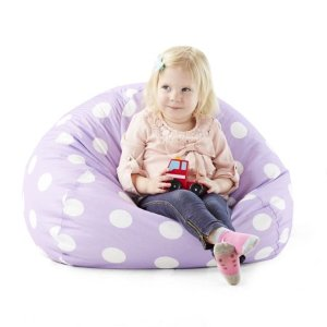 $25 Big Joe Classic 88 Kids Polka Dot Bean Bag Chair