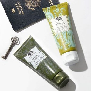 Pick a Free 6-piece skincare kitwith any $65 order @Origins