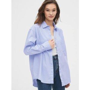 Gap宽松时尚衬衫