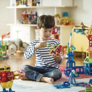 低至5折 $13.45起Magformers磁力片玩具热卖 有新款STEM工程机器人系列