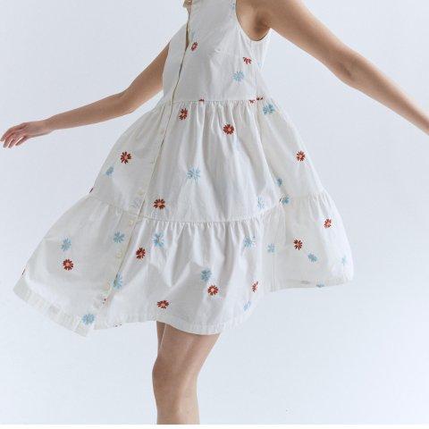 低至5折+免邮 美式休闲风Madewell 小裙子大促 封面款刺绣连衣裙$49 格纹半裙$34