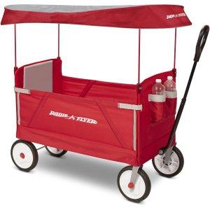 Radio Flyer, 3-in-1 EZ Fold Wagon with Canopy @ Walmart