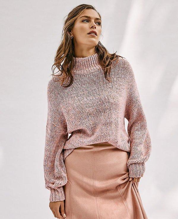 羊毛混纺毛衣