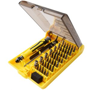 $6JACKYLED 45 in 1 Precision Screwdriver Tool Kit JK127-45IN1