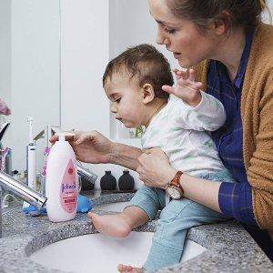 $5.97(原价$8.99)500ml强生 婴儿身体乳,香草、乳木果、保湿型三种系列可选