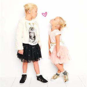 卫衣仅$4.50  牛仔背带纱裙$15史低价:国民童装品牌OshKosh BGosh全站低至3折+满$40额外7.5折+超值返券