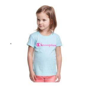 额外6折 T恤$5.99 卫衣$8.99Champion官网 特价区儿童服饰折上折特卖