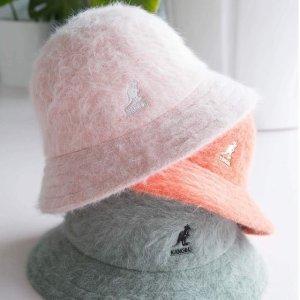 5折起 正价无门槛8.5折Kangol 帽子专场 $65到手价收樱花粉帽子 $55收贝雷帽