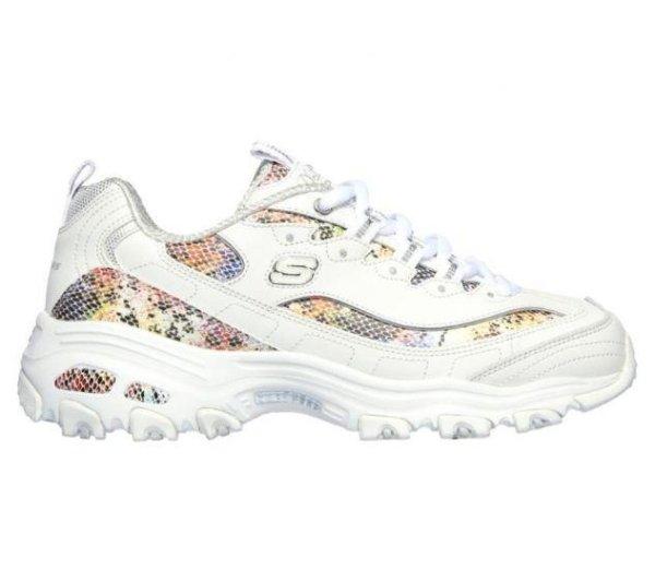 D'Lites 彩虹蛇皮纹细节老爹鞋