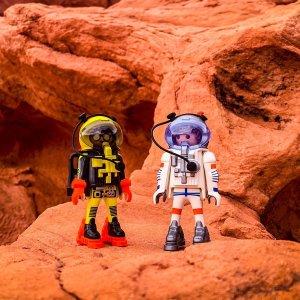 满额送礼券Playmobil 德国儿童创造性拼装玩具周末促销