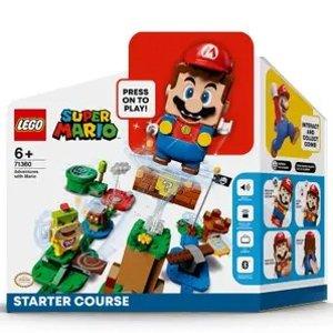 £61.99自选马里奥组合 立省£21!LEGO 超级马里奥冒险 组合任选优惠 食人鱼岛、猫咪屋