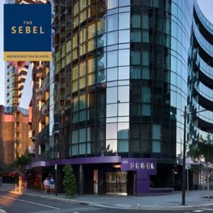 $189起(原价$621)每天送免费红酒墨尔本Docklands:The Sebel酒店 住宿含早餐