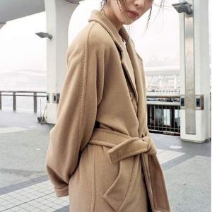 4折起+叠7折 史低€126收羊绒围巾Max Mara 反季超值捡漏 永远的经典 只能选1件大衣就选它