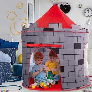 $19.99(原价$49.99)Play22 弹出式儿童骑士城堡帐篷,可折叠收纳