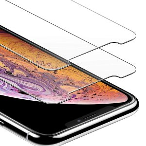 $2.99Anker GlassGuard Screen Protectors for iPhone XR/11 or Xs Max/11 Pro Max 2-Pack