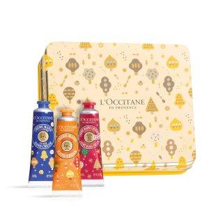 L'Occitane价值$47.5经典护手3件套