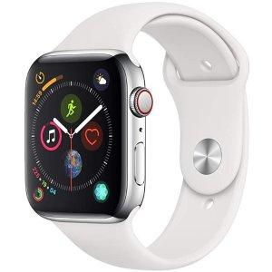 全场6.5折 £468收经典白色Apple Watch Series 4 系列超值大促 款式颜色多 质感没得比