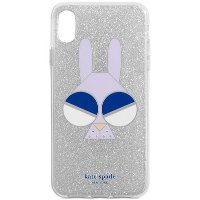 Kate Spade New York Glitter Monkey Bunny iPhone XS Max Case