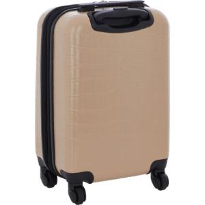 低至2.6折 £49.99收奶茶色旅行箱TKMAXX 箱包专场 旅行必备 轻便质感新秀丽、Guess两用
