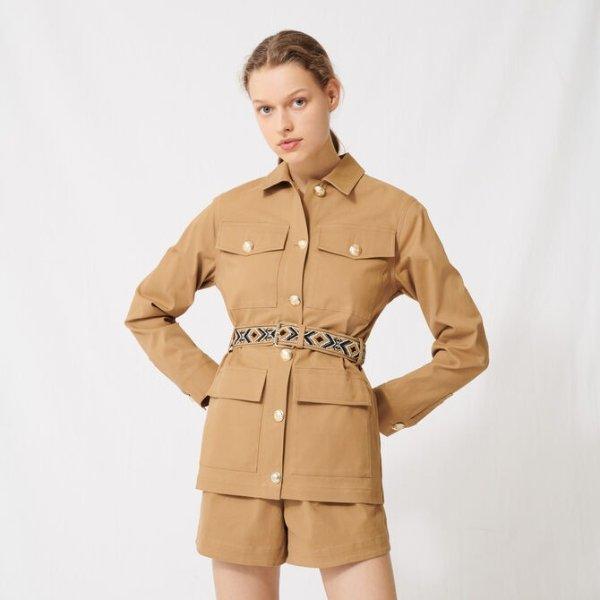 女士工装外套