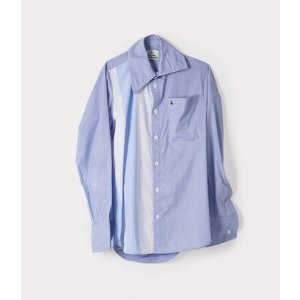 Vivienne WestwoodXS/L/XL码纯棉拼接衬衫