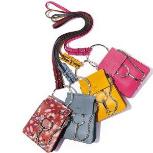 低至5折+额外8折 收大热小猪包、Faye, NileChloe 美包、服饰、鞋履等促销