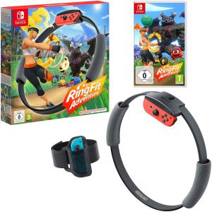 史低价£64.99补货:Ring Fit Adventure 健身环与大冒险