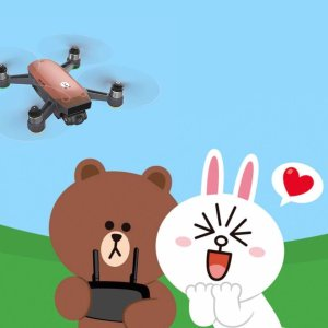 $399DJI Spark RC Combo LINE FRIENDS (BROWN)