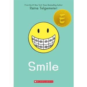 买2本第3本免费Raina Telgemeier 美国畅销漫画家 儿童获奖漫画小说
