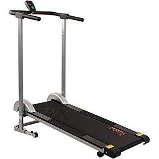 $111.96(原价$199)+包邮包安装Sunny Health & Fitness 家用健身跑步机促销