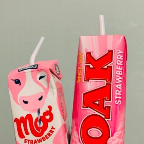 $3起WWS 草莓牛奶大汇总 喝可爱补可爱