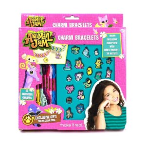 Animal Jam Ultimate Fan Craft Kit - Sketchbook and Jewelry Making Set for Kids - Over 100 Pieces Includes In Game Codes for Exclusive Den Items
