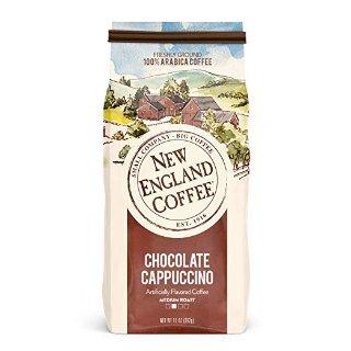 $4.69 独特口感 浓浓香味New England Coffee 巧克力卡布基诺味中度烘焙咖啡粉