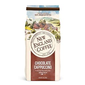 $3.93+免邮 香浓独特New England 巧克力卡布奇诺口味特调咖啡 11盎司