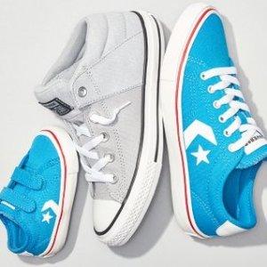 $20起Converse 儿童休闲鞋热卖