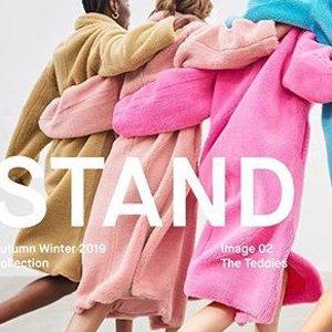 低至3折+额外8折+包税直邮中国Stand 网红泰迪熊大衣,仅需¥1000+,穿上你就是靓仔