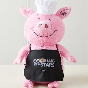 仅£16 快递上门不用抢!M&S 新款Percy Pig 限量版厨师小猪上线 网上就能买啦