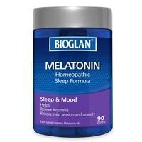 $12.25(原价$24.5)Bioglan 褪黑素成人睡眠片 90粒 调节激素平衡,改善睡眠