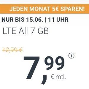 月租€7.99!立省€120!本周最划算!包月所有电话/短信+7GB上网+欧盟漫游