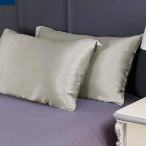 单个€28.99 护发神器LilySilk 真丝枕套 100%桑蚕丝 19姆米高品质 精致女孩必备
