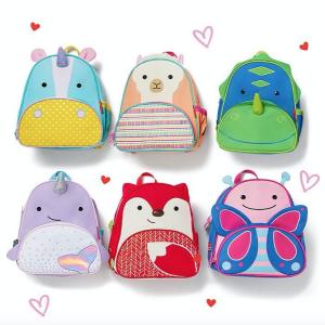 $15(原价$22)Skip Hop 动物园系列儿童背包促销 超级适合幼儿园孩子