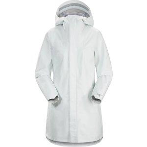 Arc'teryx风衣总要有一件高级白女款防雨风衣外套