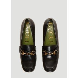Gucci粗跟鞋