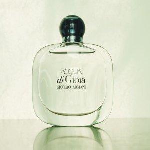Giorgio Armani Acqua Di Gioia Eau De Parfum Spray for Women, 1.70-Ounce @ Amazon.com