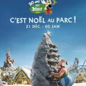 现价€40 (原价€43)Parc Astérix 主题公园门票热促 圣诞节组团来玩吧