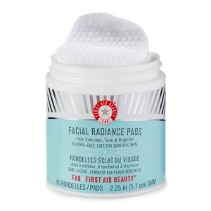 First Aid Beauty去角质清洁棉片